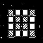Swimming pool tile icon